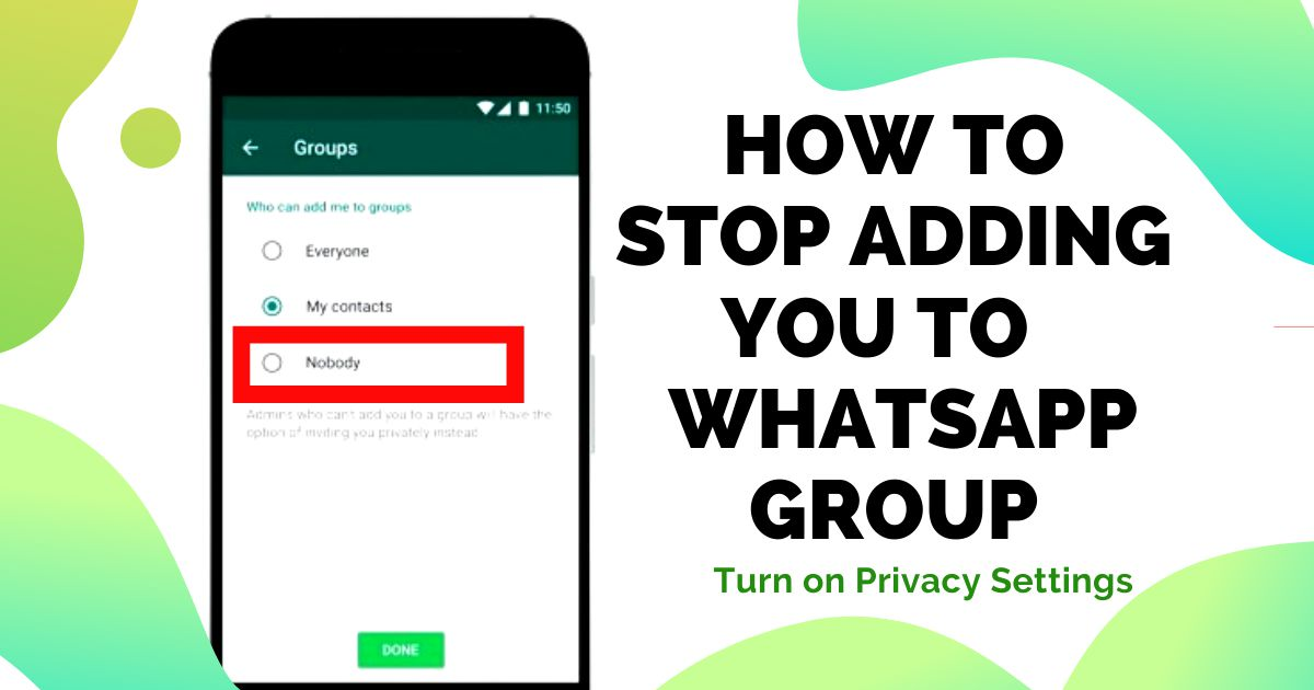 group privacy settings