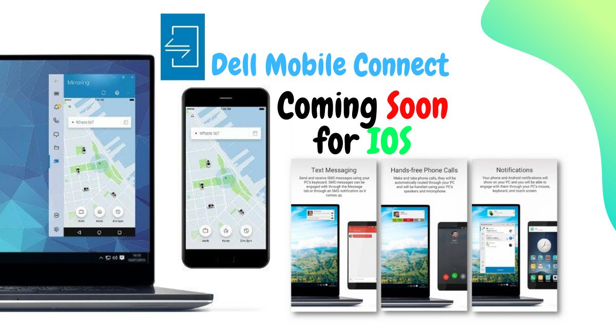 Dell Mobile Connect Coming Soon for IOS